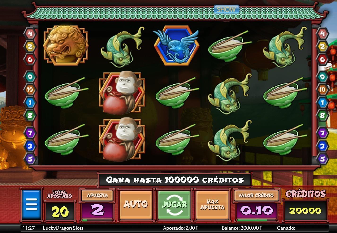 Resumen del juego lucky dragon