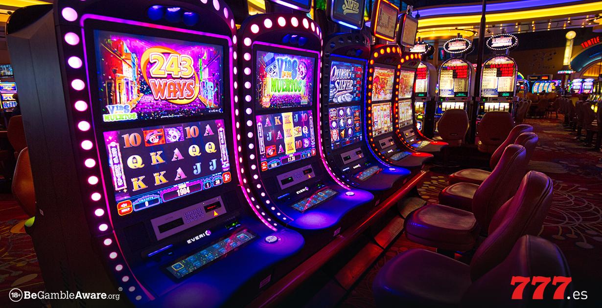 Evolución de las slots hasta los juegos de casino online