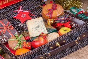 Origen e historia de la cesta o lote de Navidad