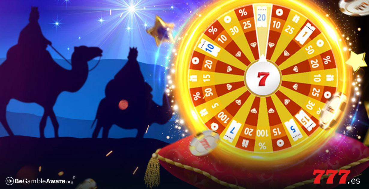 Ruleta de Reyes en Casino777