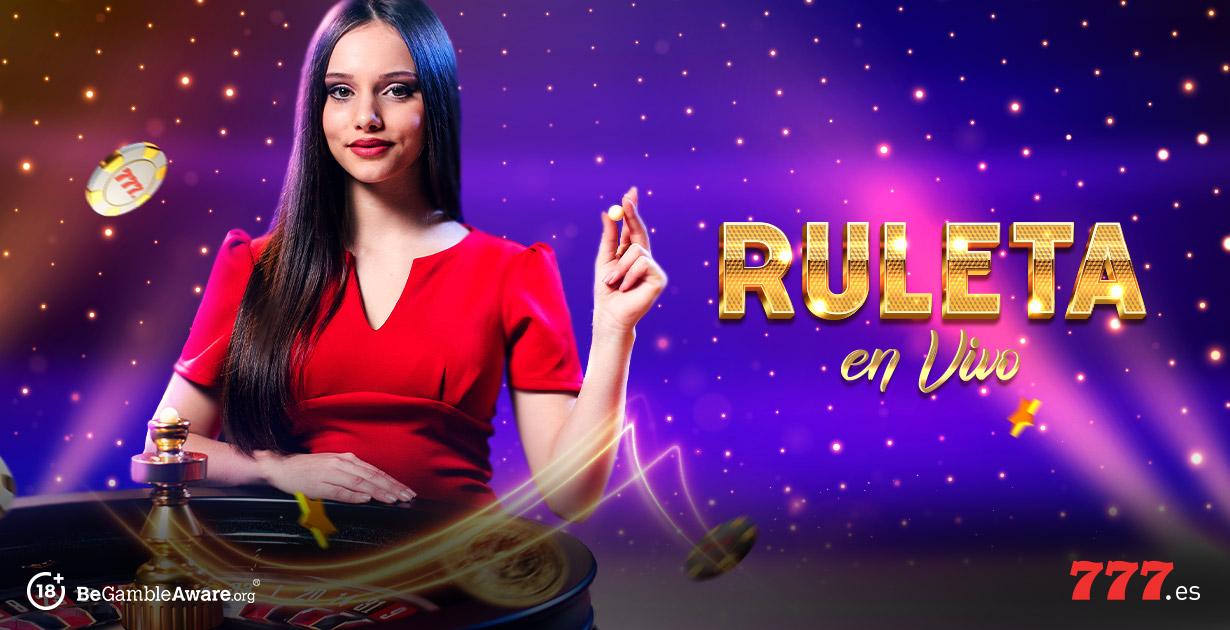 Ruleta en vivo en Casino777