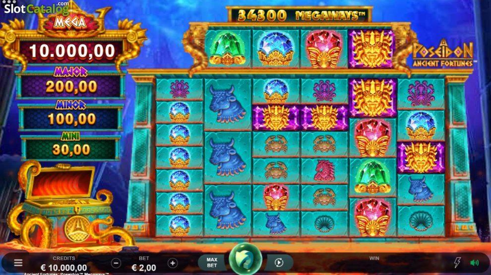 Tragamonedas de temática griega en Casino777